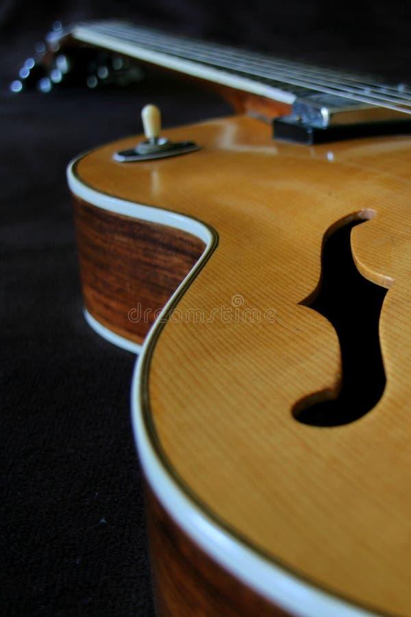Extracto de la guitarra fotos de archivo