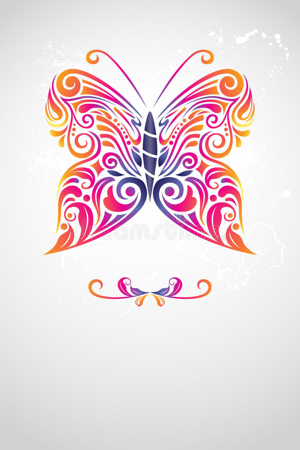 Extracto de la mariposa libre illustration