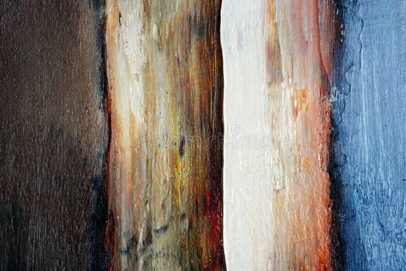 Extracto de la pintura al óleo fotografía de archivo