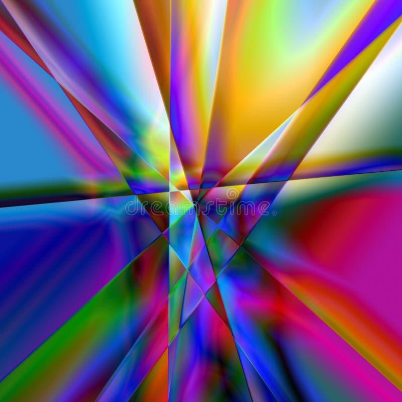 Extracto de la prisma ilustración del vector