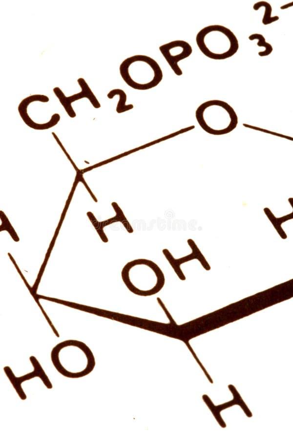 Extracto de la química imagen de archivo