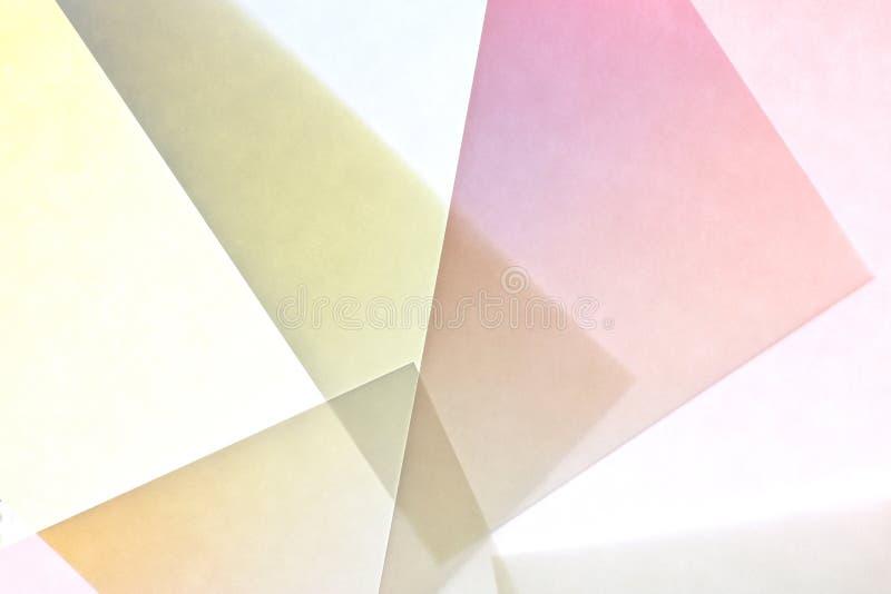 Extracto 3 de la textura del papel de la pendiente imagenes de archivo