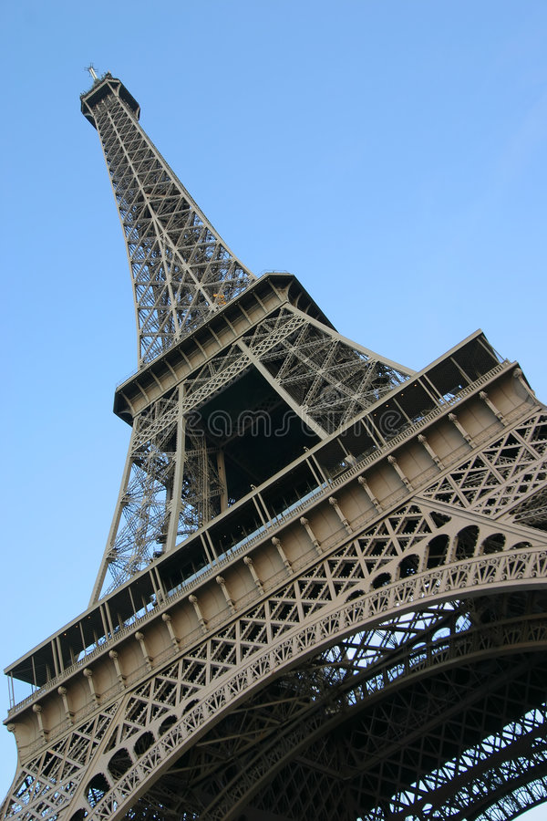 Extracto de la torre Eiffel fotos de archivo