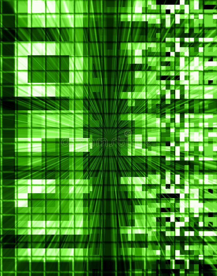 Extracto de las conexiones de la tecnología libre illustration
