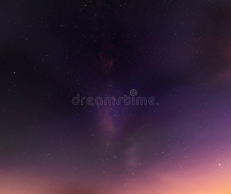 Extracto de las estrellas en el cielo imágenes de archivo libres de regalías