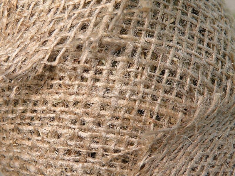 Extracto de lino de la tela foto de archivo
