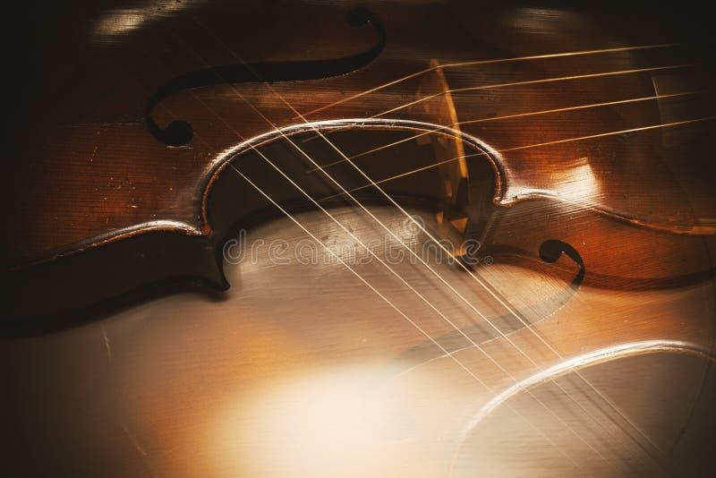 Extracto de los detalles del violoncelo imagen de archivo libre de regalías