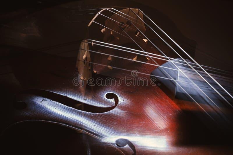 Extracto de los detalles del violoncelo fotos de archivo libres de regalías