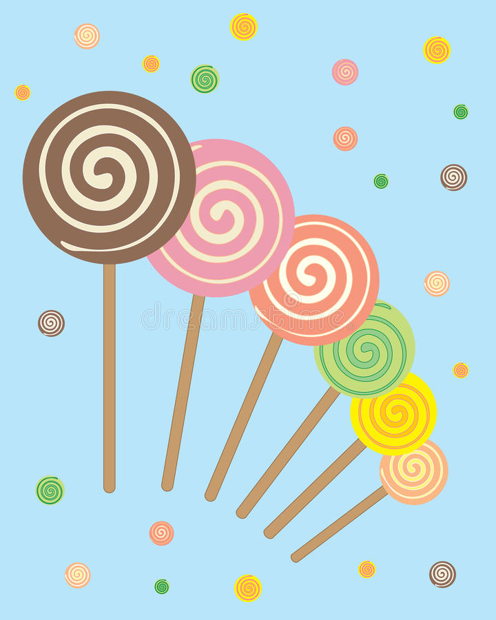 Extracto de los Lollipops libre illustration