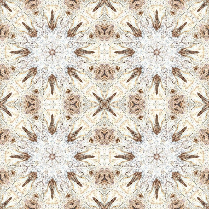Extracto de mármol del caleidoscopio del granito de la textura Naturaleza de la roca ilustración del vector