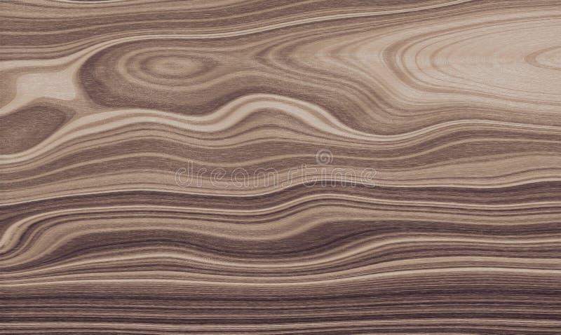 Extracto de madera rojo del modelo del fondo, grano del diseño stock de ilustración