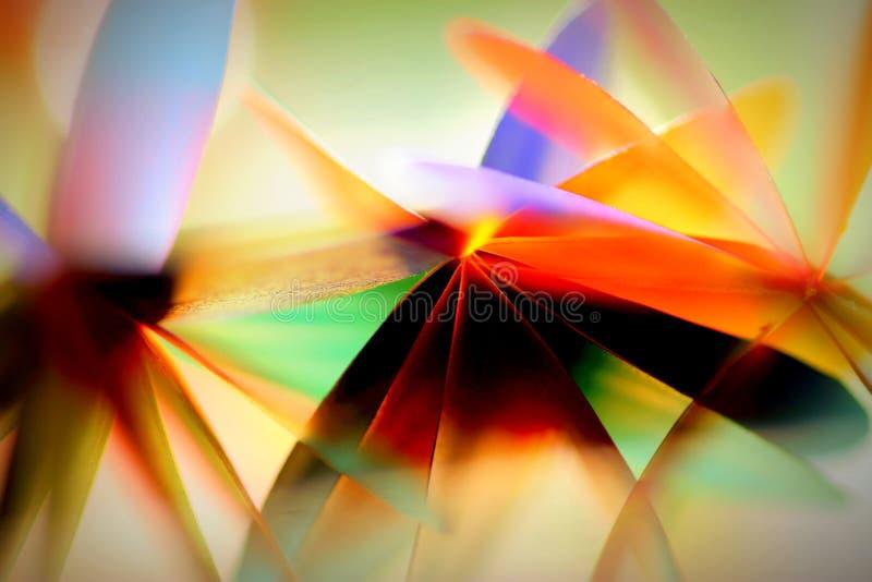 Extracto de papel borroso colorido fotos de archivo