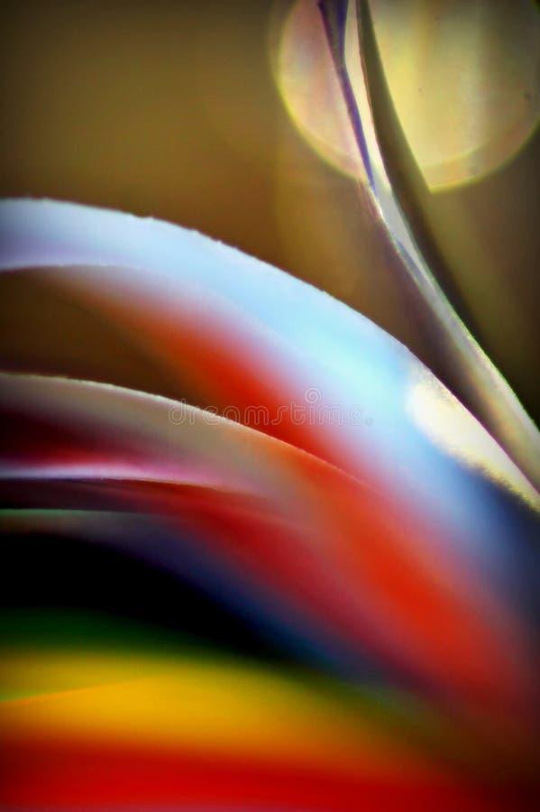 Extracto de papel colorido foto de archivo