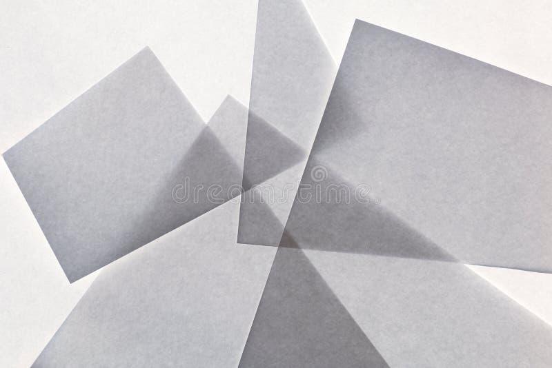 Extracto de papel gris geométrico de la textura fotos de archivo