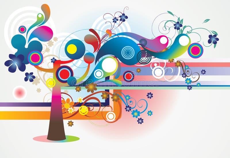 Extracto del árbol stock de ilustración