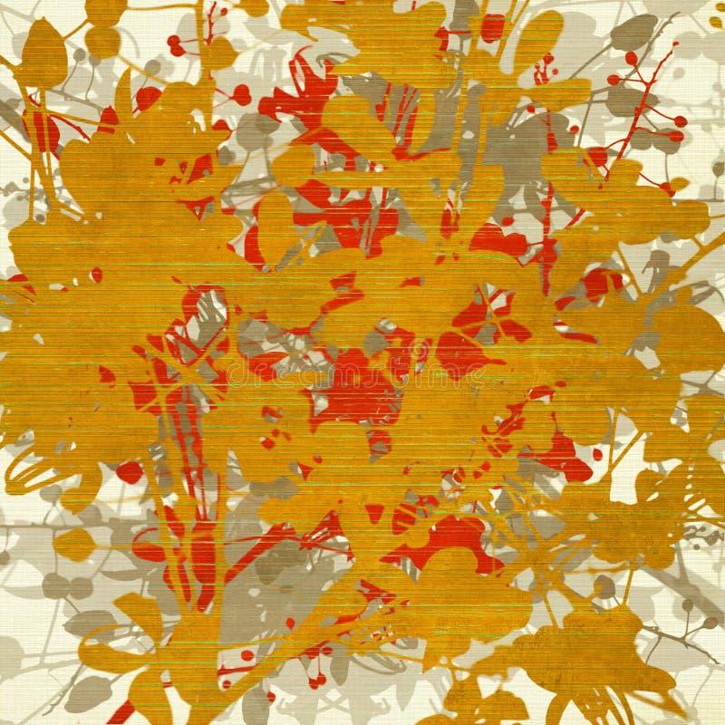 Extracto del arte en fondo Textured acanalado stock de ilustración