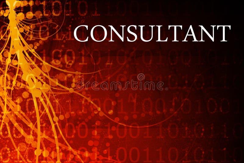 Extracto del consultor stock de ilustración