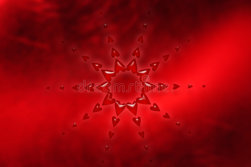 Extracto del corazón ilustración del vector
