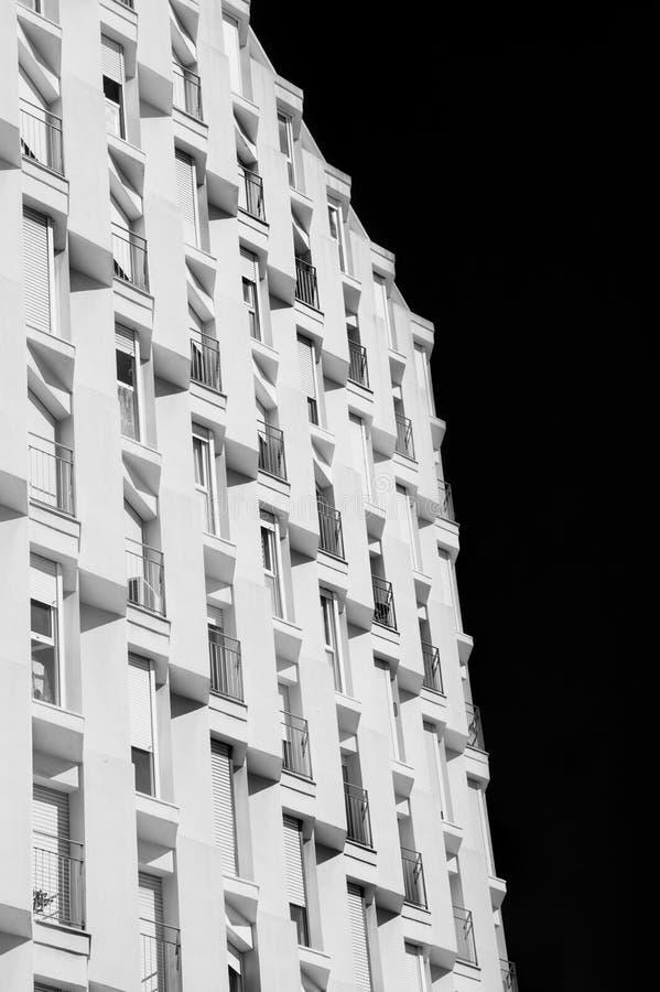 Extracto del detalle de Architecural del skyscrape imagen de archivo