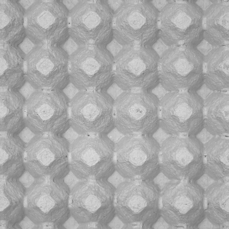 Extracto del fondo del cartón del huevo fotografía de archivo