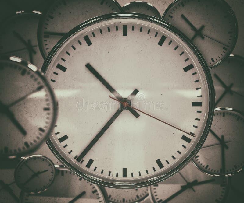 Extracto del fondo del reloj fotografía de archivo libre de regalías
