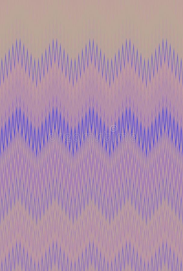 Extracto del fondo del modelo de zigzag de Chevron Mosaico del ornamento libre illustration