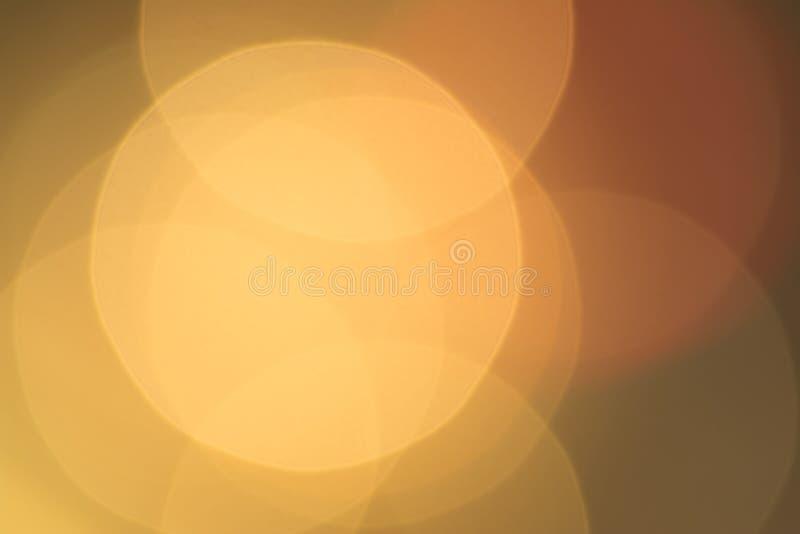 Extracto del fondo del oro, espacio en blanco grande del bokeh para el diseño fotos de archivo libres de regalías