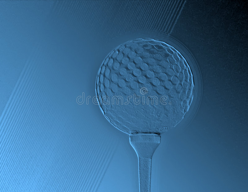 Extracto del golf libre illustration