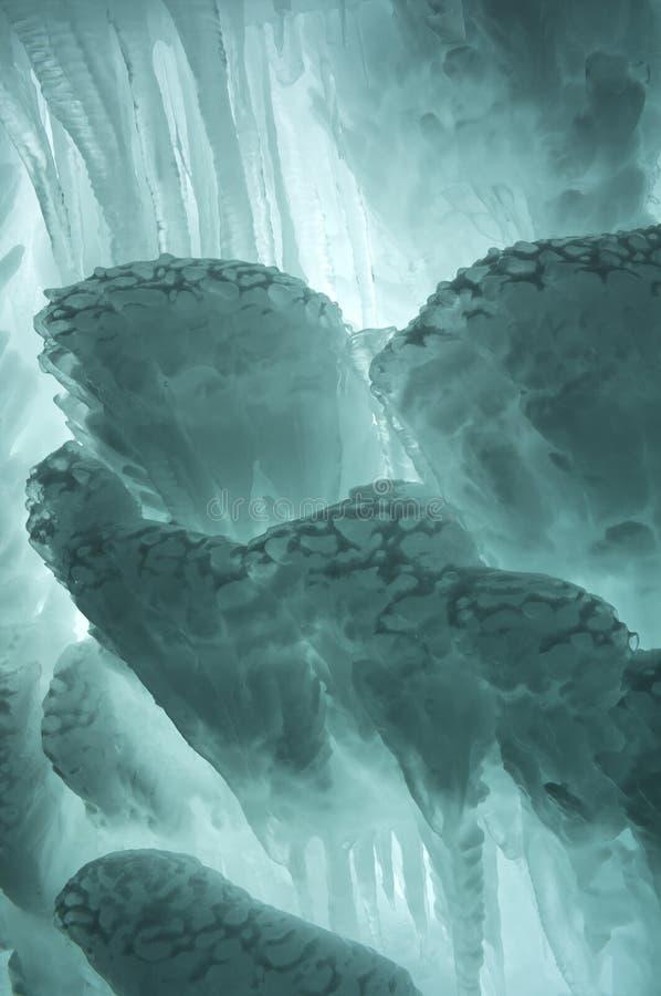 Extracto del hielo del Aquamarine imágenes de archivo libres de regalías