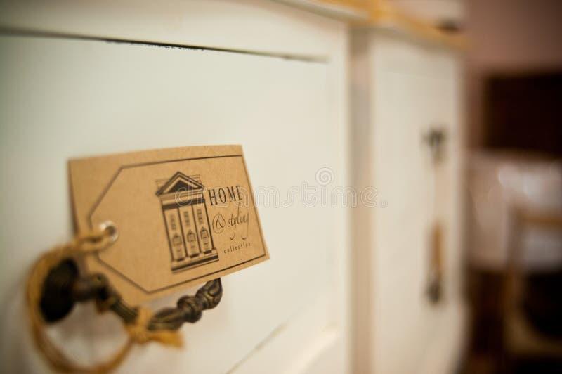 Extracto del hogar y del estilo imagen de archivo