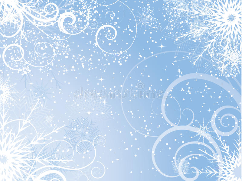 Extracto del invierno ilustración del vector