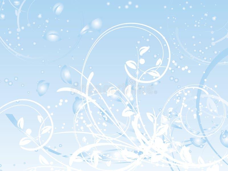 Extracto del invierno stock de ilustración