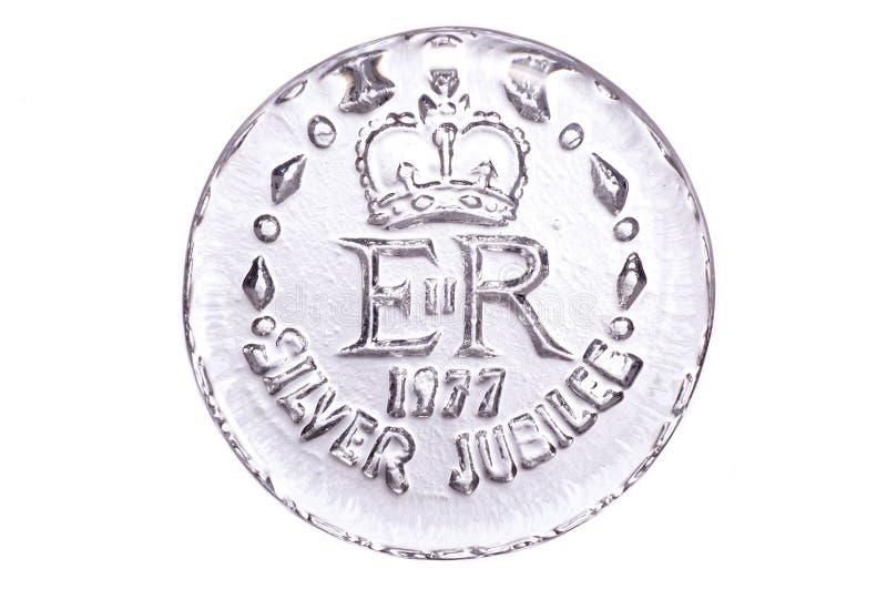 Extracto del jubileo de plata imagen de archivo libre de regalías