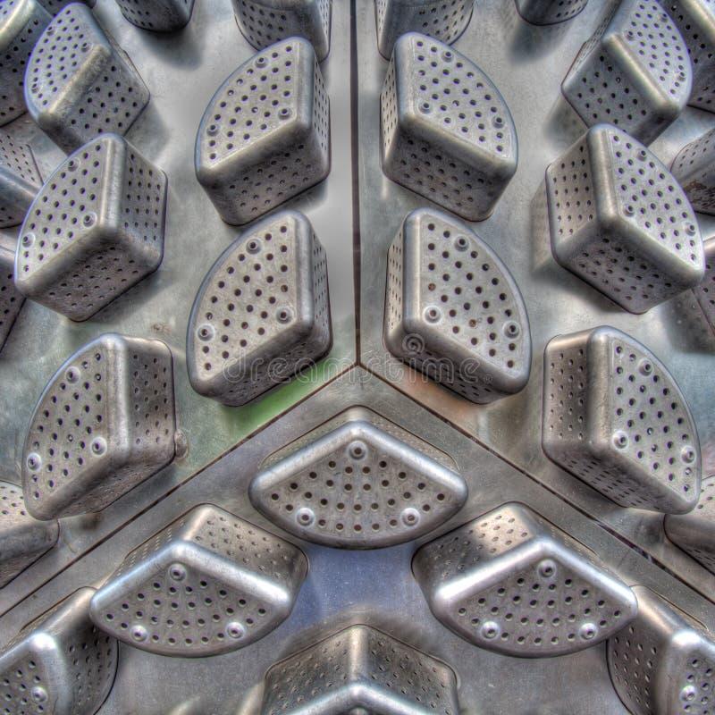 Extracto del metal imagenes de archivo