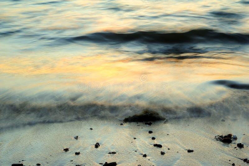 Extracto del movimiento de onda foto de archivo