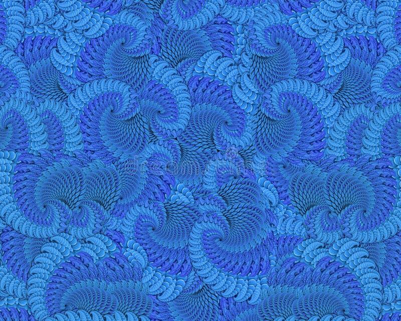 Extracto del océano ilustración del vector