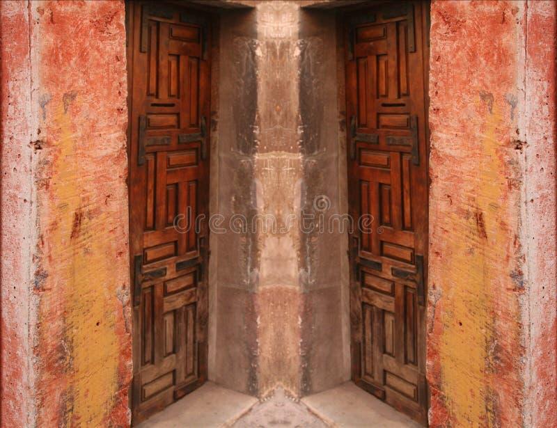 Extracto del umbral imagenes de archivo