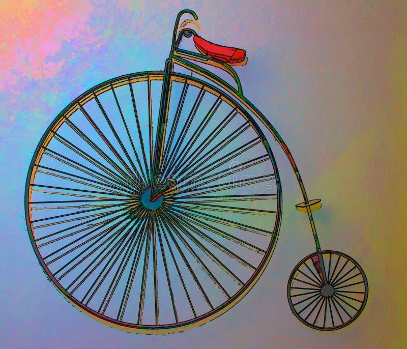 Extracto del Unicycle imágenes de archivo libres de regalías