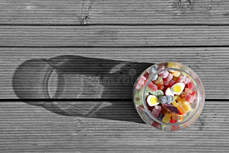 Extracto dulce del tarro imágenes de archivo libres de regalías