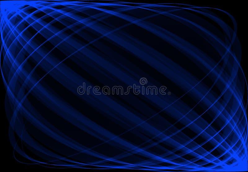 Extracto en azul ilustración del vector
