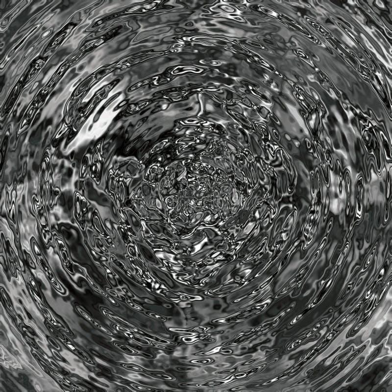 Extracto flúido de plata fotografía de archivo