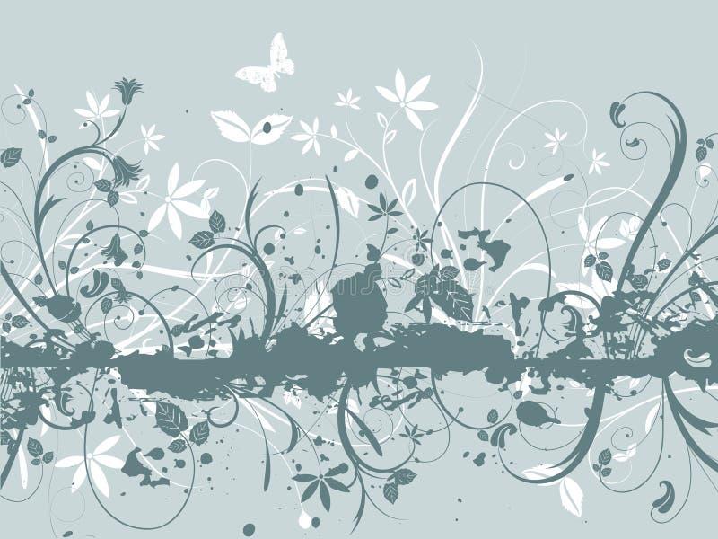 Extracto floral stock de ilustración