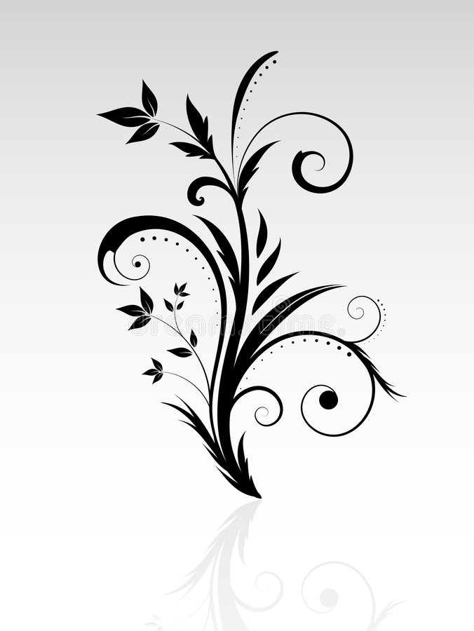 Extracto floral libre illustration