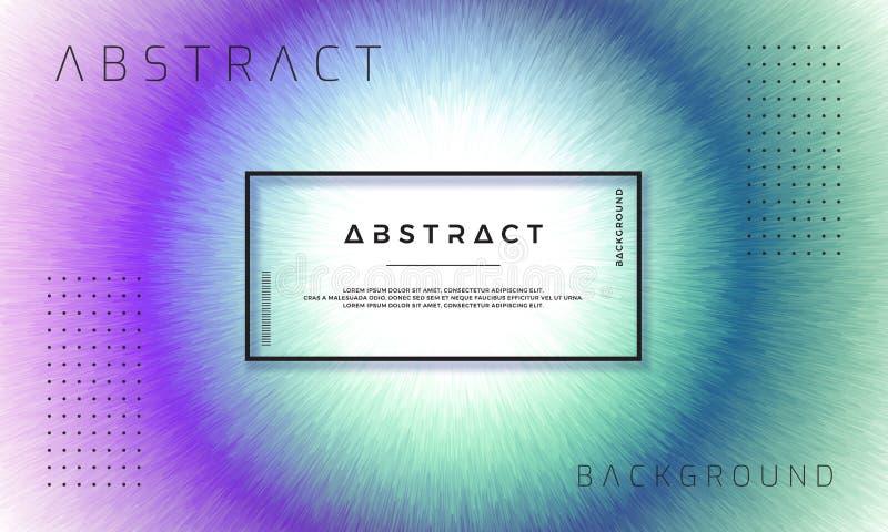 Extracto, fondos dinámicos, modernos para sus elementos del diseño y más, con las sombras púrpuras y azul marino libre illustration