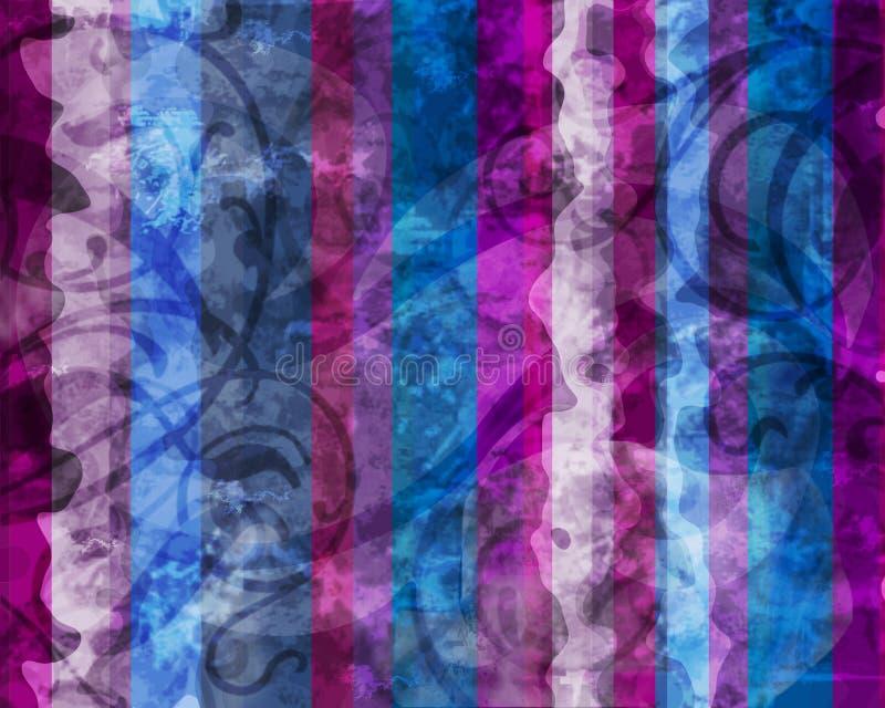 Extracto fresco del color ilustración del vector