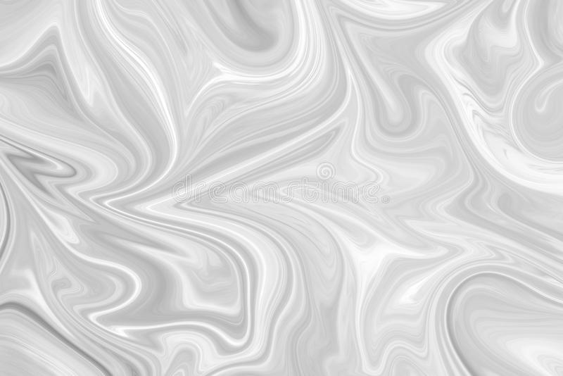 Extracto Gray Black y fondo de mármol blanco del modelo de la tinta Licue el modelo abstracto con el negro, blanco, Grey Graphics imagen de archivo libre de regalías