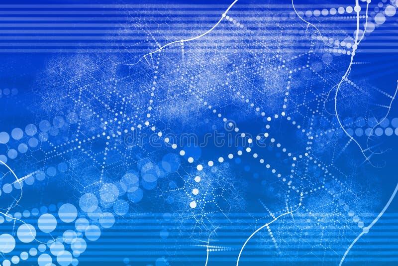 Extracto industrial de la red de la tecnología libre illustration