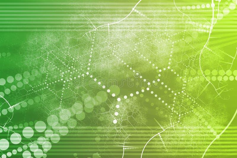 Extracto industrial de la red de la tecnología ilustración del vector