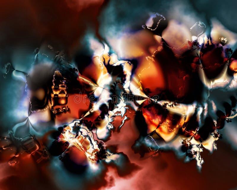 Extracto IV del fractal stock de ilustración