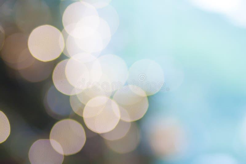 Extracto ligero del fondo del brillo fotografía de archivo libre de regalías